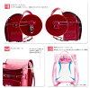 支持供小学生用的双肩背的书包fuwarii大容量轻量小学生用的双肩背的书包小型女人的孩子使用的粉红棕色Kahma界内2019年日本制造A4平地文件的kurarino大容量人气保证从属于的轻量