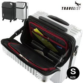 スーツケース 上開き キャリーケース 小型 Sサイズ TOPオープン TSAロック 機内持込 キャビンサイズ 旅行バッグ トランク TRAVELIST 【送料無料 1年保証】