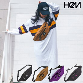 HeM ヘム ウエストポーチ ウエストバッグ ケリー バッグ ST-278-03 ブラック ベージュ パープル ブランド レディース 女性