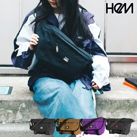 HeM ヘム ウエストポーチ ウエストバッグ ケリー バッグ ST-278-05 ブラック ベージュ パープル ブランド レディース 女性