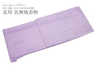 夏天一顶耐水洗耐水洗衣服剪裁了酷女孩夏季和服 S/M/L/LL 紫色丝绸纱布块衣服的雷诺素色