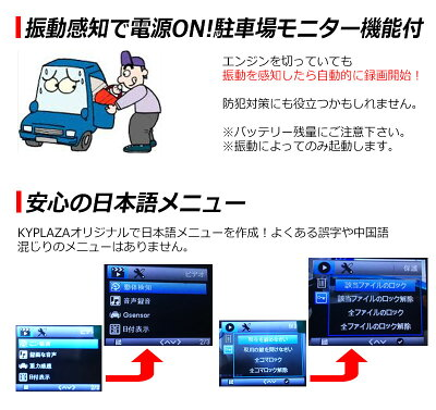 世界最小クラス高画質小型ドライブレコーダーWDRGセンサー搭載HDMI出力動体感知自動録画対応日本語マニュアル付属1年保証ドラレコドライブレコーダ送料無料