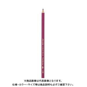 トンボ鉛筆 色鉛筆 1500 単色 赤紫 1500-23