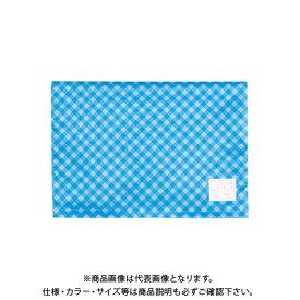 ナカバヤシ 防災ずきん用カバー/チェック/ブルー BZK-102-B