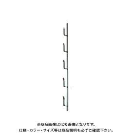 タナカ 十手型金具(鉄) 4段(2.5尺) (10本入) AD5T04