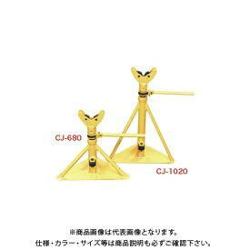 【直送品】デンサン DENSAN ケーブルジャッキ(2台セット) CJ-680