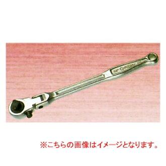 SUPER TOOL棘轮方向盘(頭部首振型)12.7mm(1/2)RH400