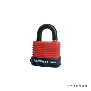 フェデラル FEDERAL RL40W-R-P ダイヤル鍵 屋外用 レッド
