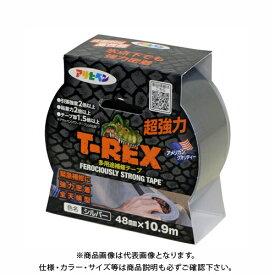 アサヒペン T-REX 超強力ダクトテープ 48MMX10.9M TR-101 シルバー