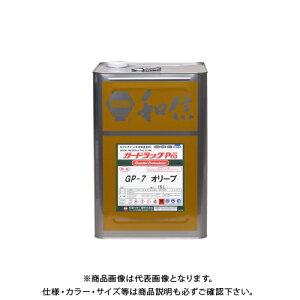 和信ペイント ガードラックプロ オリーブ 16L #950120
