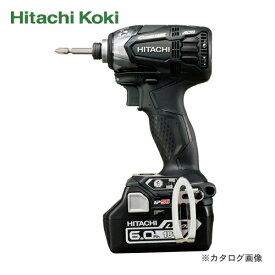 HiKOKI(日立工機) 18V/6.0Ah コードレスインパクトドライバ(ストロングブラック) WH18DDL2(2LYPK)B