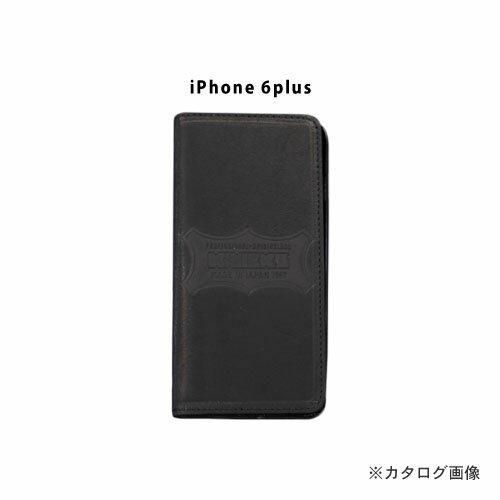 ニックス KNICKS i6p-B iPhone6Plus 本革携帯ケース カードホルダー付