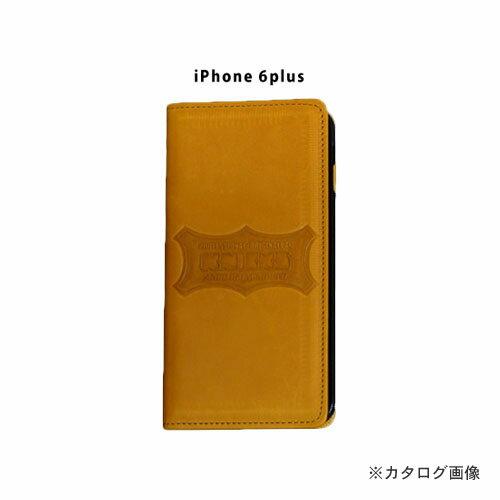 ニックス KNICKS i6p-C iPhone6Plus 本革携帯ケース カードホルダー付