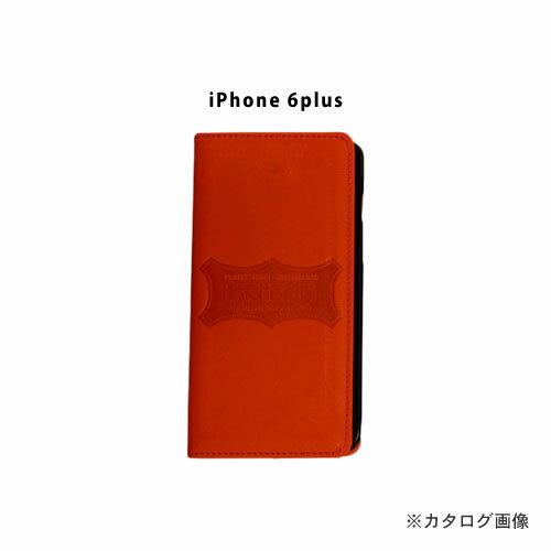 ニックス KNICKS i6p-R iPhone6Plus 本革携帯ケース カードホルダー付