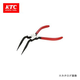 KTC 曲型ロングスナップリング プライヤ穴用 SCP-172LL