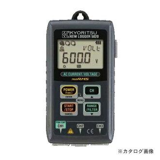 供共立电气仪表KYORITSU电流/电压记录使用的detarogakyuroga KEW 5020