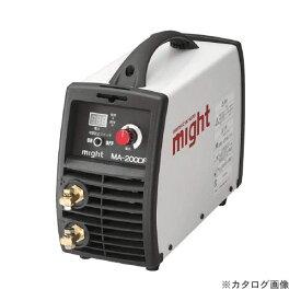 【6月25日はWエントリーでP14倍!】【お買い得】マイト工業 新型デジタル直流インバータ溶接機 MA-200DF