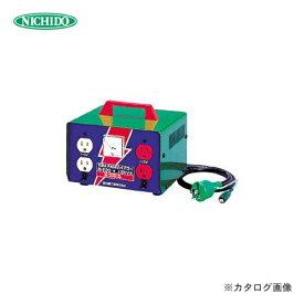 【お買い得】日動工業 100V昇圧専用トランス(屋内型) M-E20 【スプリングセール】
