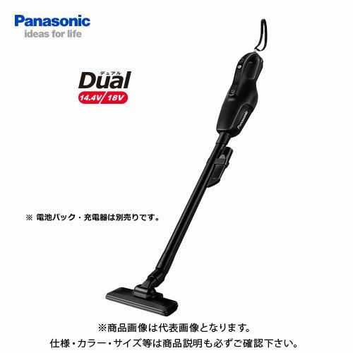 【あす楽対応】【お買い得】パナソニック Panasonic 工事用 充電コードレスクリーナー ブラック Dual 本体のみ EZ37A3-B