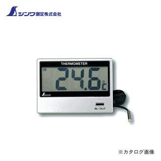 信和测量数字温度计 E 室内和室外 72947