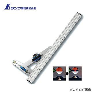 于SHINWA测量圆nokogaido直尺eruanguruajasuto 1.2m并用刻度角度调整的77374