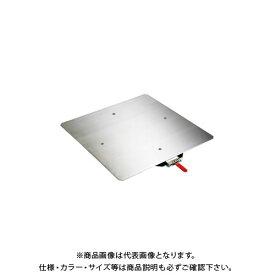 【直送品】サカエ クルクル回転盤・スチール製・ステンレス天板 KS-50SUST