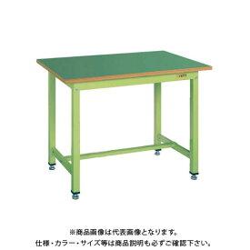【4/1はWエントリーでポイント19倍相当!】【直送品】サカエ SAKAE 中量作業台KTGタイプ 組立式 グリーン KTG-493F