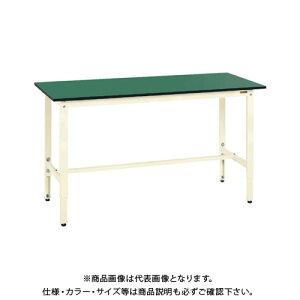 【直送品】サカエ SAKAE 軽量高さ調整作業台TKK8タイプ(改正RoHS10物質対応) 組立式 1500×600×800〜1000 アイボリー TKK8-156FEI
