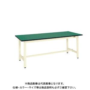 【直送品】サカエ SAKAE 軽量作業台KSタイプ(改正RoHS10物質対応) 組立式 1500×600×740 アイボリー KS-156FEI