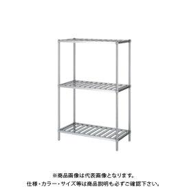 【直送品】【受注生産】シンコー ステンレスラック (スノコ棚3段) 738×588×1800 RSN3-7560