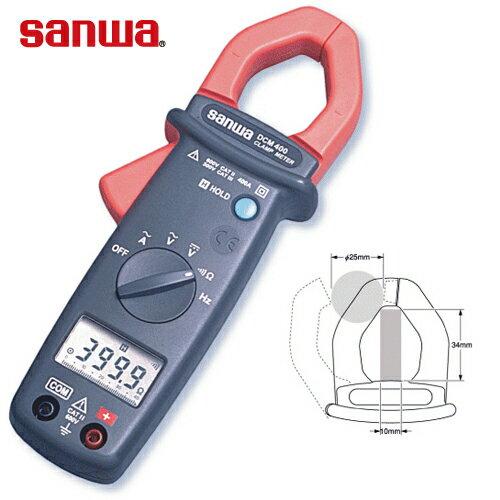 三和電気計器 SANWA クランプメータ デジタル AC+DMM機能 DCM400