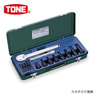 """前田金属工业 tonnay 口气 12.7 毫米 (1/2"""") 对于影响六角套筒扳手设置 AH4133"""