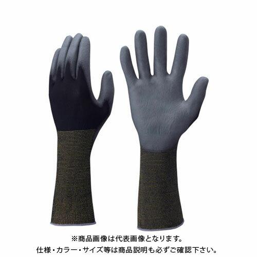 ショーワ ピッタリ背抜き袖口カバー 黒 Mサイズ NO262-M-BK