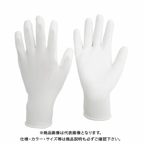 ミドリ安全 ポリエステル手袋 (手のひらコート)10双入 S NPU-130-S
