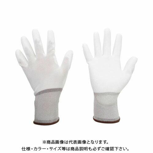 ミドリ安全 ポリエステル手袋 (手のひらコート)10双入 SS NPU-130-SS