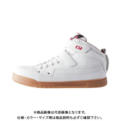 バ-トル 作業靴 809-29-245 ホワイト 809-29-245