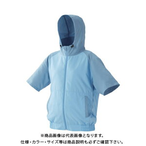 IRIS カジュアルクールウェア半袖セット(フード有り)LL CCHS-LL02-A