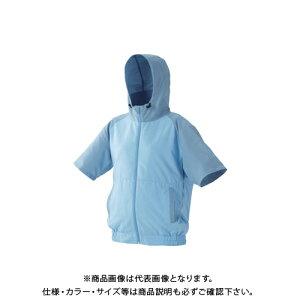 IRIS カジュアルクールウェア半袖セット(フード有り)L CCHS-L02-A