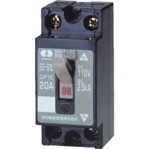 河村電器 分岐回路用ノーヒューズブレーカ SE 2P2E30S