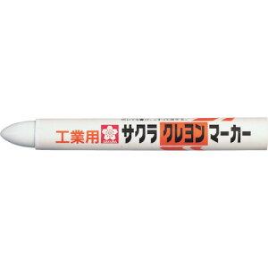 サクラ クレヨンマーカー 白 10本 GHY50-W
