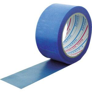 パイオラン 微粘着養生テープ 50mm×25m Y-03-BL