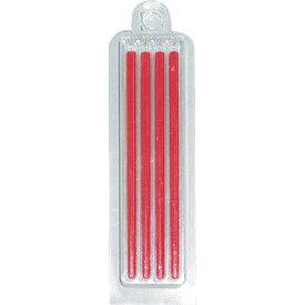 フエキ 建築用ソフトカラー鉛筆ホルダー替芯 赤 (4本入) RSCH8-H