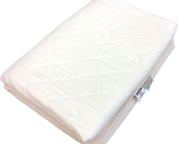 【パシーマ】キルトケット【ダブル】医療用純度の脱脂綿とガーゼで作るシンプル寝具 日本製