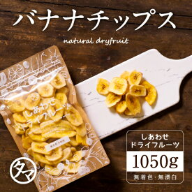 【送料無料】ドライ バナナチップス(1050g/フィリピン産)カリッと食感とバナナの甘みがクセになる!食物繊維たっぷりの美味しいドライバナナチップスです。|保存料不使用・防腐剤不使用Natural dry banana chips dryfruit