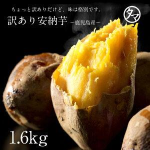 鹿児島産安納芋1.6kg訳あり特価でご予約開始!安納芋は美味しいだけじゃなく栄養も食物繊維もたっぷり♪【サツマイモ 訳あり】?南九州産 お取り寄せ さつまいも あんのういも 安納いも