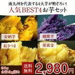 【送料無料】南九州最強のお芋4種セット
