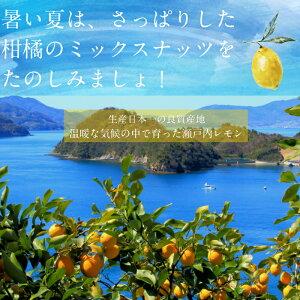 夏季限定!塩レモン仕立てのしあわせミックスナッツ(300g)爽やかな瀬戸内レモンとミネラル岩塩で仕上げた夏にピッタリの香りと酸味が広がるミックスナッツ ナッツ低炭水化物ダイエットロカボ