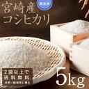【2袋以上で送料無料】新米こしひかり、宮崎県の契約農家のおいしいお米です。もっちりしてうまいのが特徴です。つきたてをお届けいたします。平成30年度産のこしひかり発売いたします。