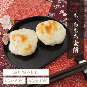 【送料無料】もっちもち麦餅 500g (250g×2袋)日本のもち麦ともち米と塩だけでつくった無添加の自然派ナリュラルなおもちをつくってみました。|無添加・もちむぎ・もち麦・自然派もち