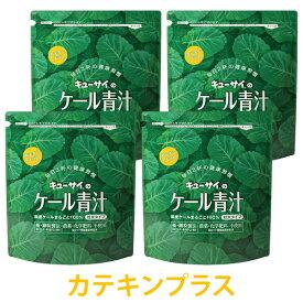 キューサイ青汁 ケール青汁カテキンプラス 粉末タイプ 420g入 4袋まとめ買い